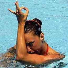 Gemma Mengual Plata en Budapest 2006