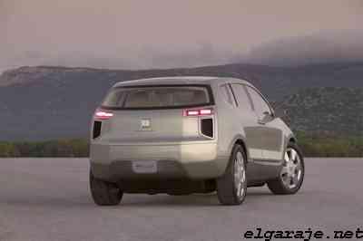 Chevrolet Sequel en la noche