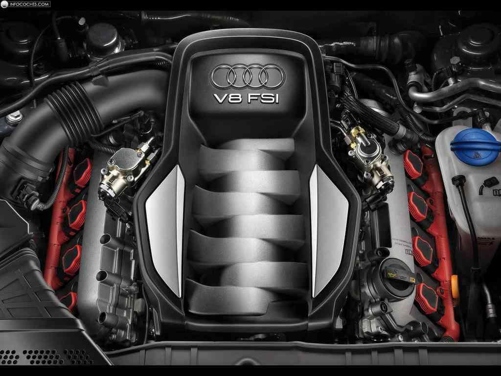 Audi S5 motor v8 fsi