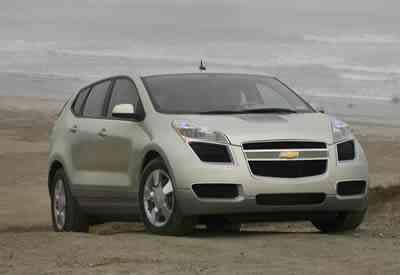Chevrolet Sequel en carretera