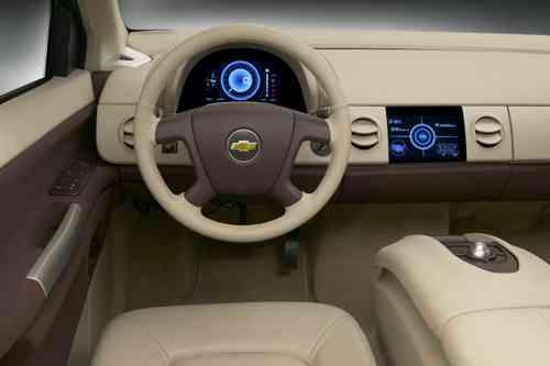 Chevrolet Sequel buen diseño interior