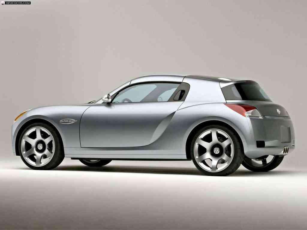Dodge SlingShot concept 2004  color gris