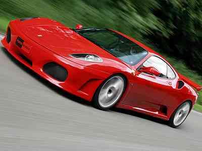Ferrari F430 Scuderia color rojo