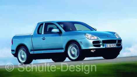 Porsche Cayenne Pick-up 3 puertas