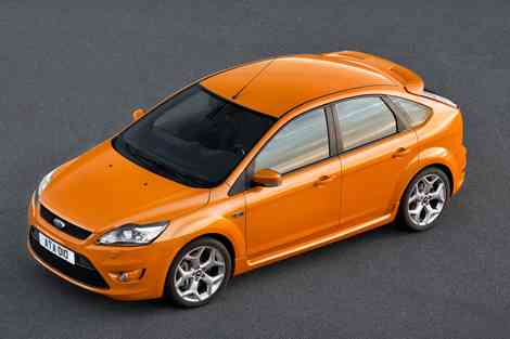 Ford Focus ST 2008, desde arriba