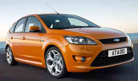 Ford Focus ST 2008, frontal precioso