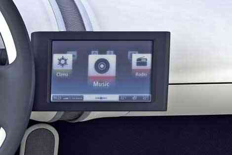 Pantalla táctil futura en Volkswagen