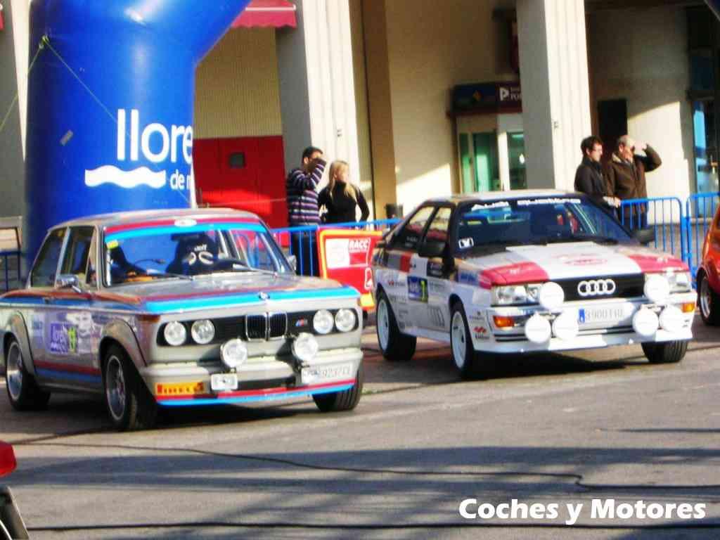Exposición Auto Retro, coches de rally clásicos: Audi y BMW