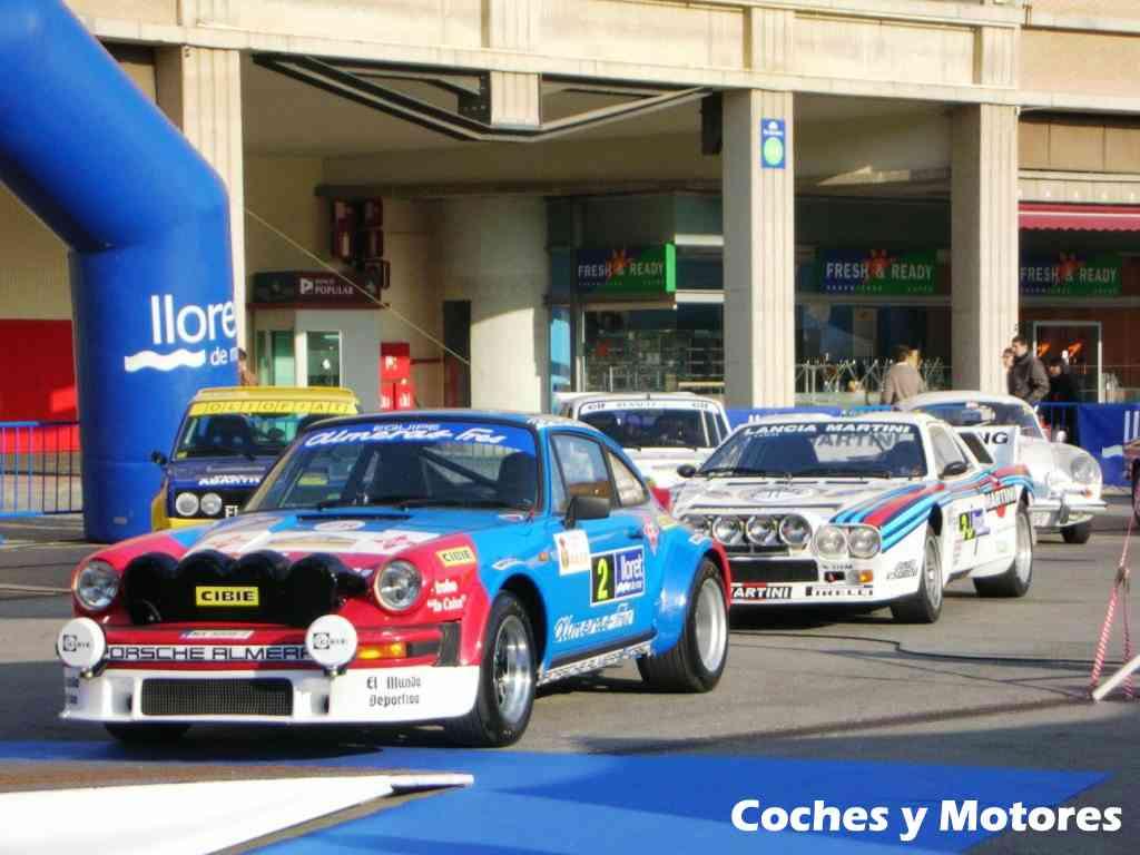 Exposición Auto Retro, coches de rally clásicos: Porsche y Lancia