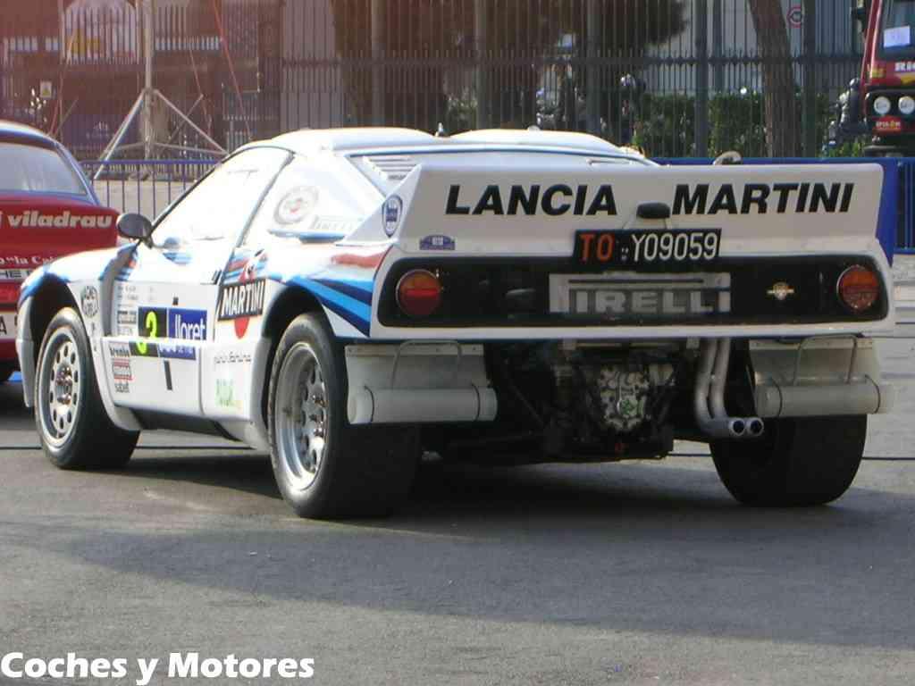 Exposición Auto Retro, coches de rally clásicos: Lancia