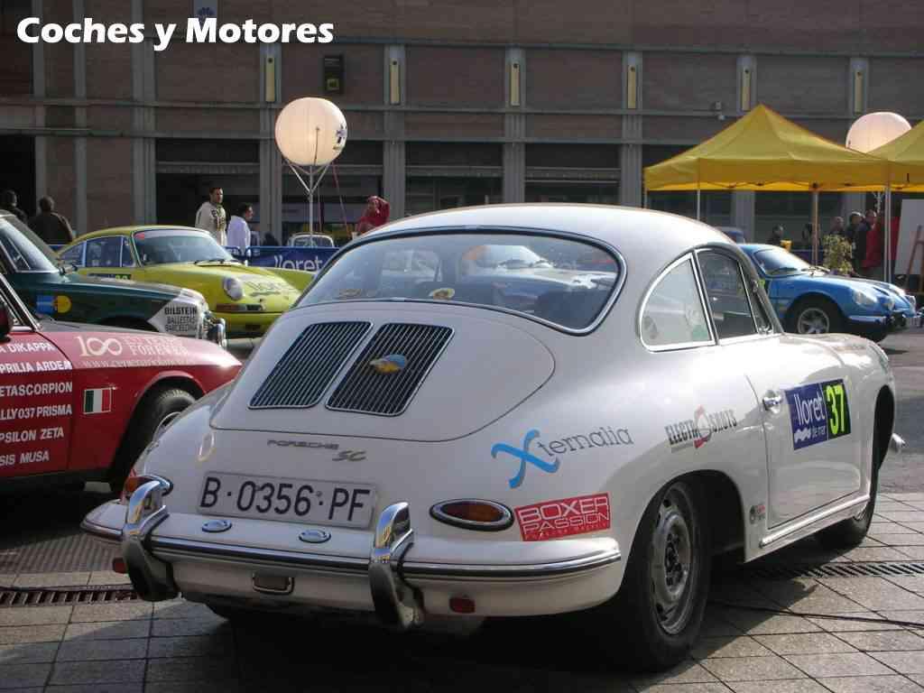Exposición Auto Retro, coches de rally clásicos: Porsche SC
