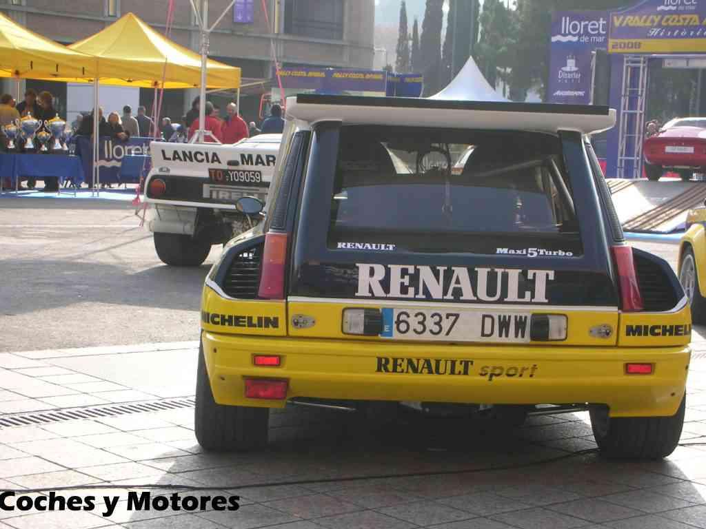 Exposición Auto Retro, coches de rally clásicos: Renault