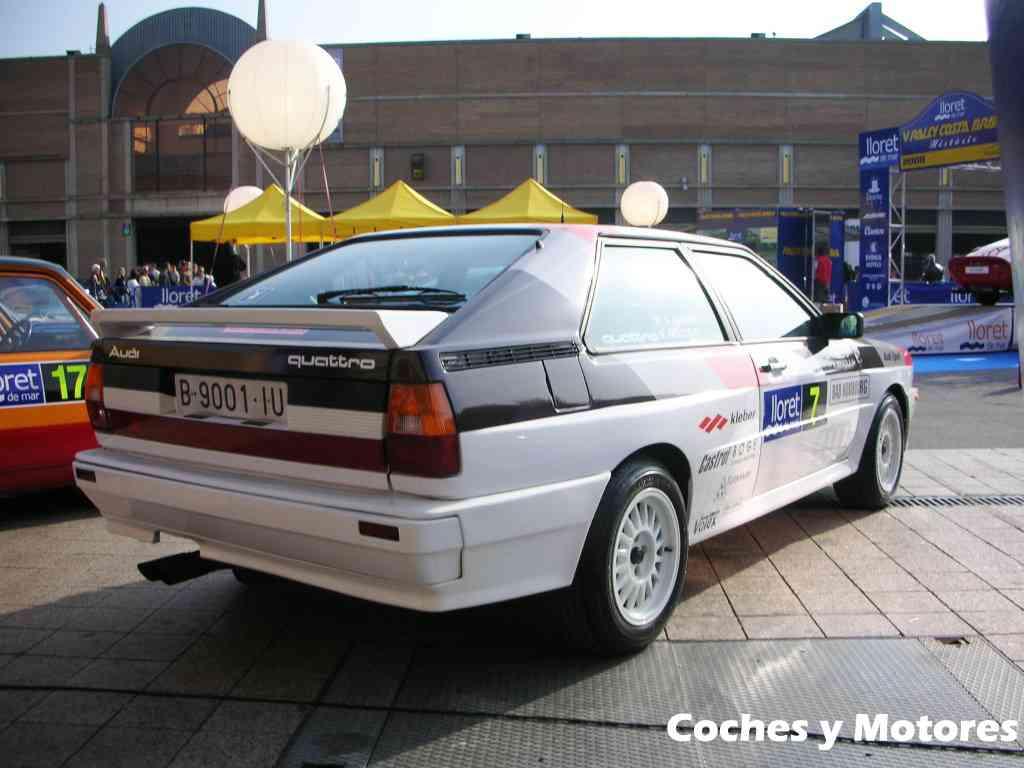 Exposición Auto Retro, coches de rally clásicos: Audi