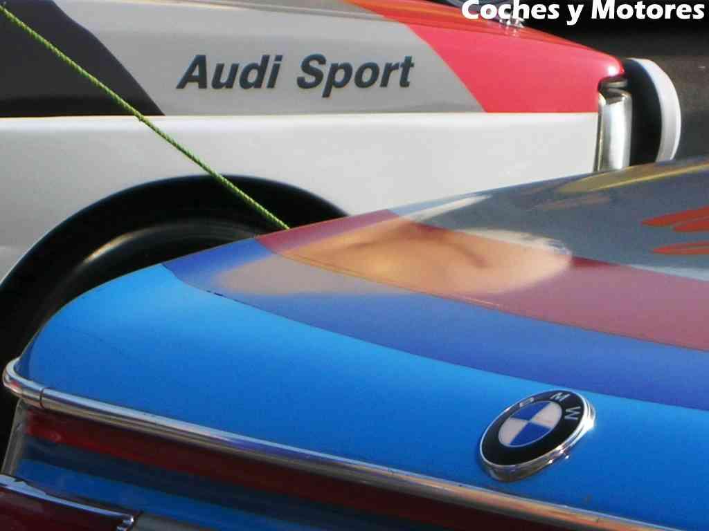 Exposición Auto Retro, coches de rally clásicos: Audi y BMW el contraste