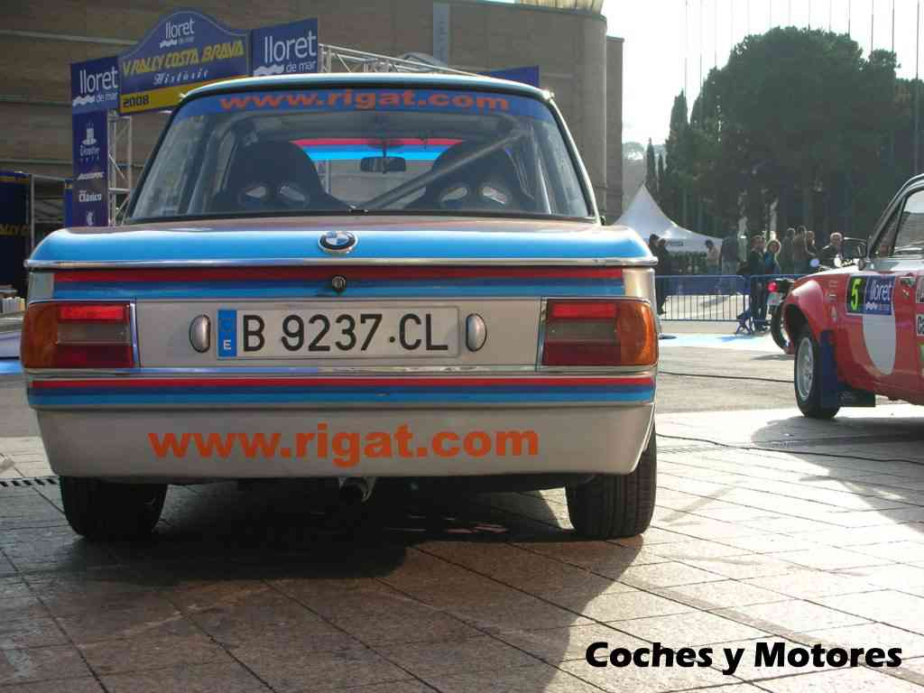 Exposición Auto Retro, coches de rally clásicos: BMW