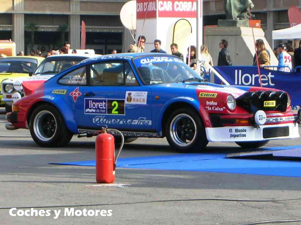 Exposición Auto Retro, coches de rally clásicos: Porsche