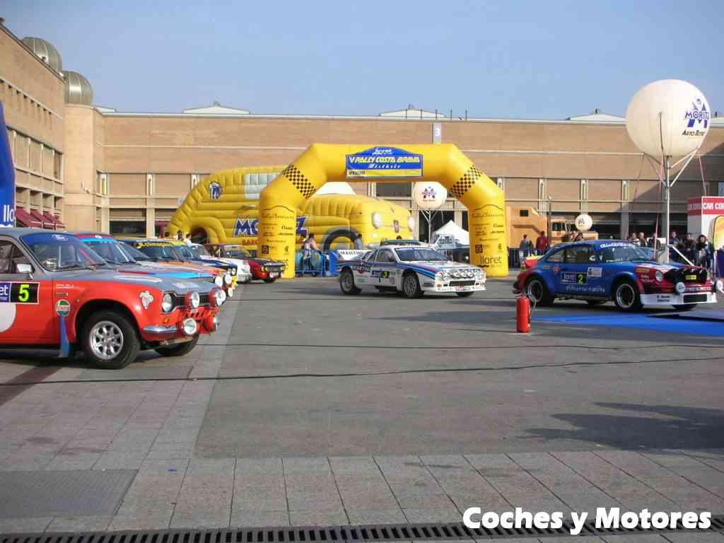 Exposición Auto Retro, coches de rally clásicos: vista general