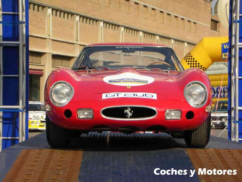 Exposición Auto Retro, coches de rally clásicos: Ferrari