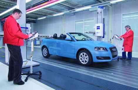 Audi A3 Cabrio en la fase final de su fabricación