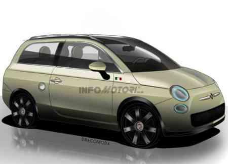 Fiat 500 versión Familiar