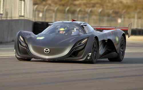 Mazda furai COncept Frontal