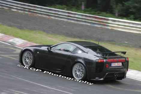 El Lexus LF-A es ahora el rey de Nürburgring
