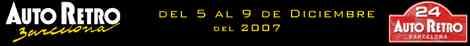 Datos Auto Retro Barcelona 2007