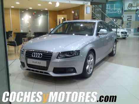 El nuevo Audi A4 expuesto en un concesionario de Tarragona