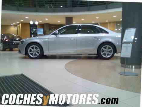 Perfil lateral del nuevo Audi A4