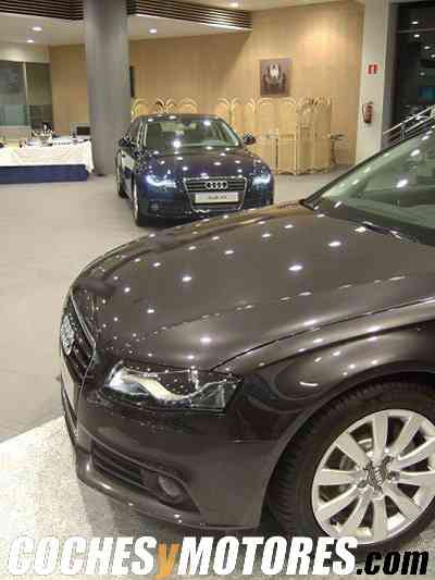 Nuevo Audi A4 en el concesionario Audi de Bilbao
