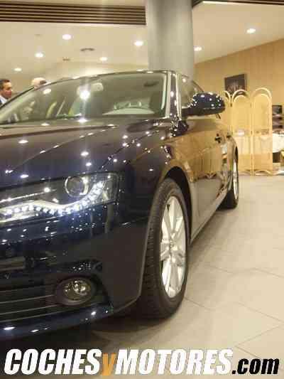 Detalle del faro dle nuevo Audi A4