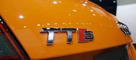 Audi TTS en Naranja