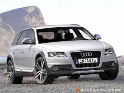 rendering del posible Audi A4 Allroad
