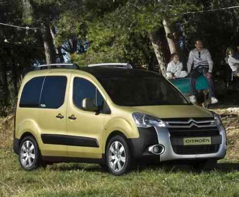Citroën Berlingo XTR, nueva versión más campera