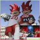Trix y Flix, mascotas UEFA Euro 2008, Austria y Suiza