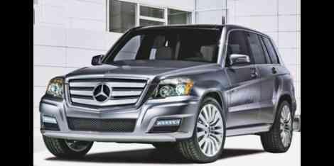 Perfil delantero del posible Mercedes GLK Bluetec
