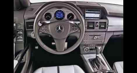 Interior del Mercedes GLK Bluetec