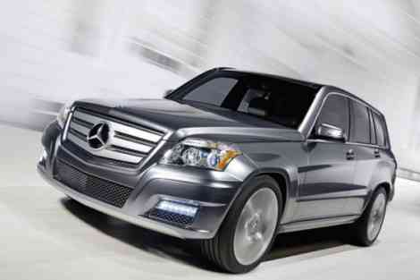 Mercedes GLK Bluetec Townside, con cariño