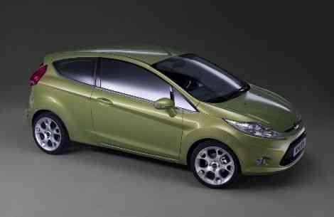 Ford Fiesta 2009: ahora con el preciosísimo kinetic-design
