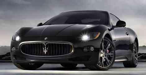 Delantera del Maserati GranTurismo S