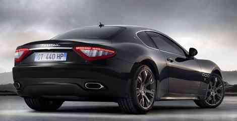 Trasera del Maserati GranTurismo S