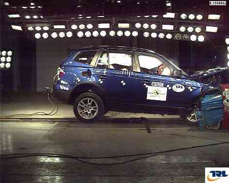 El BMW X3 consigue sólo 4 estrellas EuroNCAP