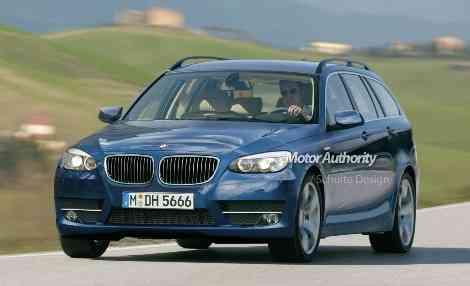 Recreación del próximo BMW Serie 5 Touring