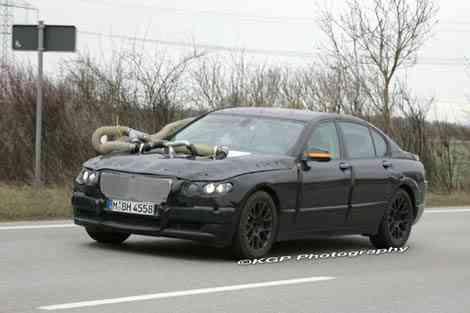 La mula de pruebas más curiosa del BMW Serie 7 2009