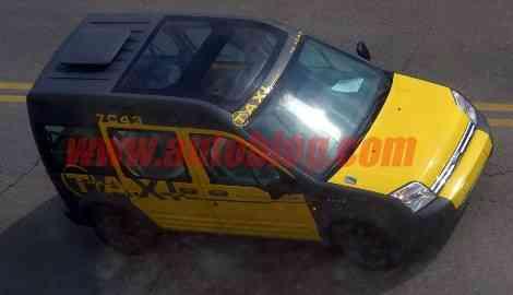 Un taxi de Nueva York, disfrazado de taxi barcelonés