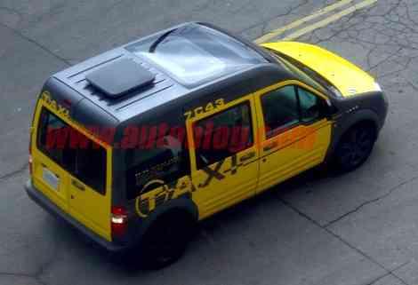 Ford Transit Taxi, futura versión del modelo para América