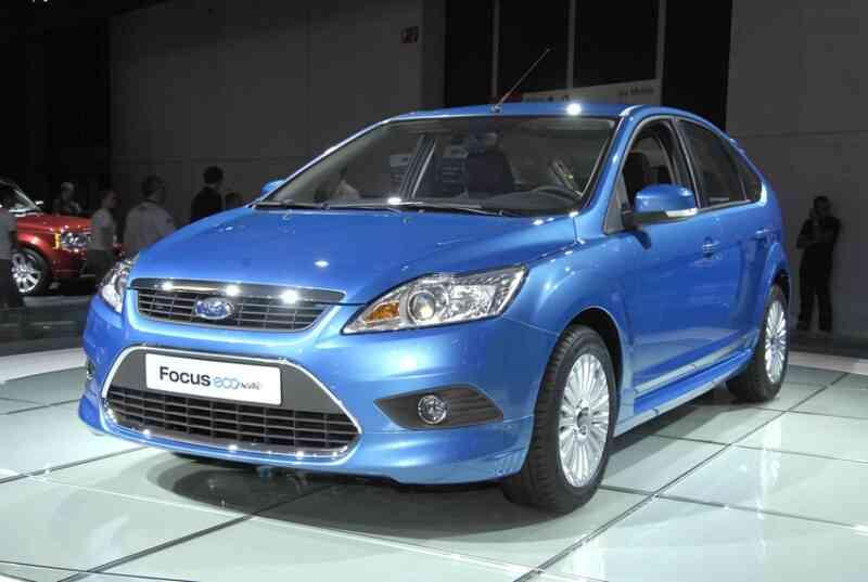 Ford Focus Econetic durante su presentación