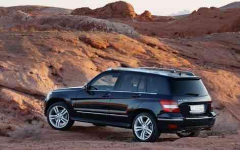 Duelto de titanes: Mercedes GLK contra Audi Q5