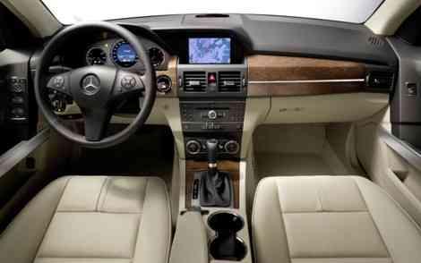 El interior del nuevo Mercedes GLK