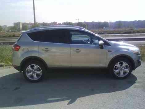 El perfil del Ford Kuga